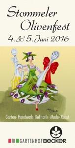 Flyer Olivenfest 16
